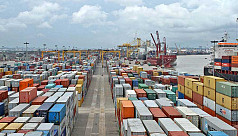 Container truck drivers on strike in Chittagong: Port goods marooned