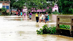Dam collapses, villages flooded in...
