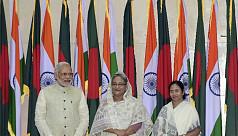 Hasina, Modi, Mamata to meet at Shantiniketan...
