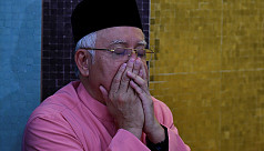 Ousted Malaysian PM Najib says will...