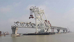 70% work on main structure of Padma...