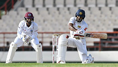 Ton-up Chandimal holds Sri Lanka together...