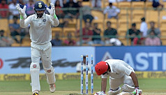 Afghanistan's debut Test ends in two-day...