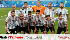 History in favour of Argentina against...