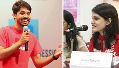 Ayman, Zaiba receive Queen's Young Leaders Award