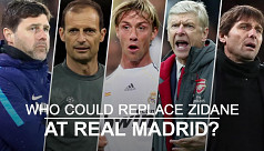Six contenders who could replace Zidane...