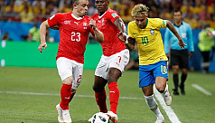 Brazil held to 1-1 draw by...