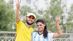 Celebrity World Cup battles on social...
