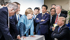 France on G7: 'Fits of anger' cannot...