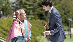 Trudeau phones Hasina, both want global movement against terrorism