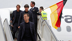 Defending champions Germany arrive in...