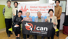 Anti-nuke Nobel winner ICAN offer to...