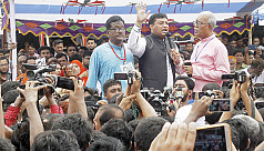 Outsider Awami League leaders take part...