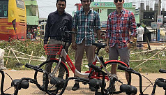 First bicycle sharing app launched