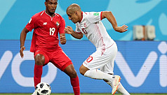 Khazri gives Tunisia first finals win...