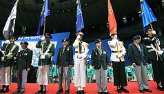 Koreas mark war anniversary in mood...