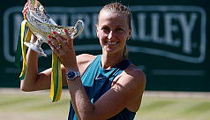 Kvitova retains Birmingham title