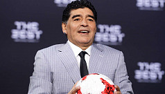 Maradona calls English win monumental...