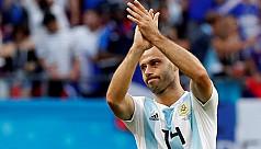 Argentina's Mascherano calls time on...