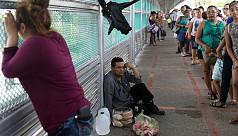 Migrants 'knock at front door' for asylum...