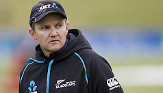 New Zealand cricket coach Hesson...