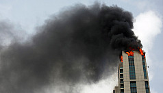 Fire breaks out in Mumbai high-rise...