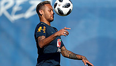 Neymar rules out transfer move, staying...
