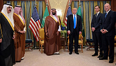 White House adviser Kushner, Saudi crown...