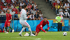 Pique says Ronaldo prone to diving after...
