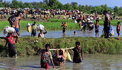 Rohingyas protest for 'justice' on crackdown...