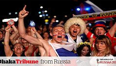 Russia goes mad after second win