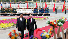 As G7 feuds, Xi and Putin play up their...