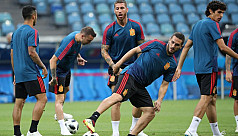 Shellshocked Spain face Portugal in...