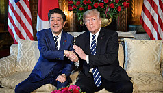 Trump hosts Japan PM, five days before...