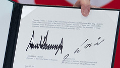 What's in a name? Kim, Trump signatures...