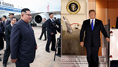 Trump, Kim arrive for US-North Korea...