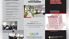ULAB to organize creative writing certificate course