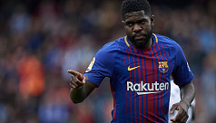 Barca's Umtiti may require knee...