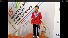 Wohaimong secures bronze in Singapore