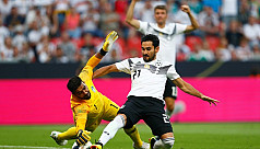 Unconvincing Germany survive scare