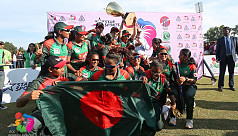 Bangladesh women create history, beat...