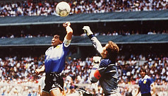 Maradona pleads for Hand of God to end...