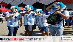 WC diary: Argentina, Iceland fans in...