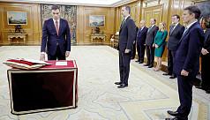 Sanchez sworn in as Spain PM, Catalan...