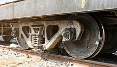 Youth killed by train while talking...