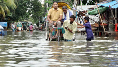 Record rainfall severely disrupts city life in Chittagong