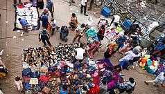 Footpath shops drawing huge number of...