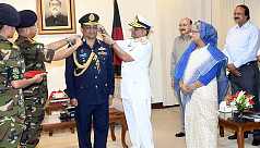 PM awards new air chief his rank...