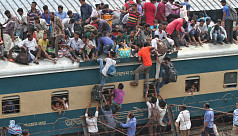 Crackdown against travelling on train...