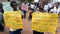 Women most at risk from traffickers...